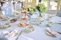 country taste vintage china hire